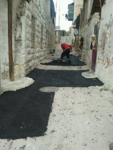 Working in Wadi Joz to increase accessibility